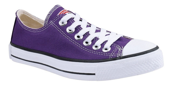 Tênis Converse All Star Ox Cano Baixo Roxo Violeta