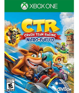 Ctr Crash Team Racing Nitro Fueled Xbox One Envio Gratis