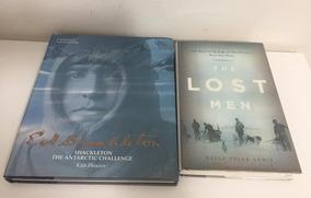 2 X Livros Sobre Viagens Polares De Ernest Shackleton