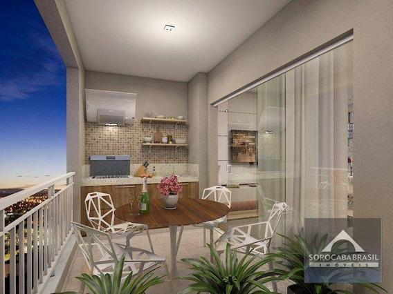 Apartamento Com 3 Dormitórios À Venda, 95 M² Por R$ 510.000,00 - Residencial Montpellier - Sorocaba/sp - Ap0128