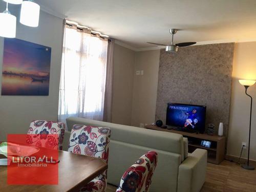 Imagem 1 de 18 de Apartamento Residencial À Venda, Praia Do Sonho, Itanhaém. - Ap0180