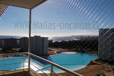 Instalación Mallas De Seguridad Para Balcón Y Ventanas