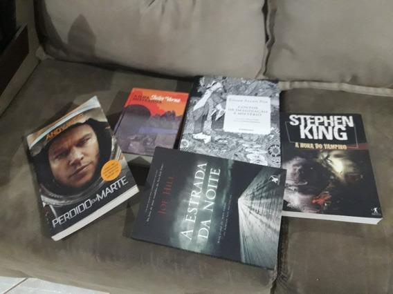 Lote De Livros -20 Livros - Zumbis, Terror, Stephen King