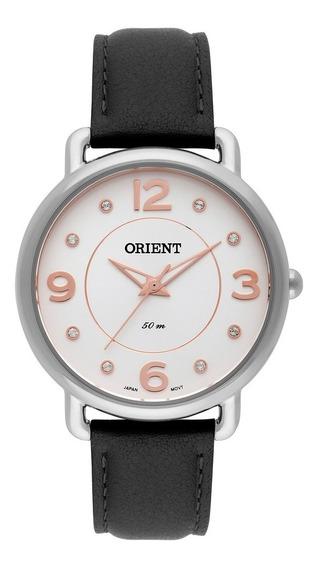 Relógio Orient Feminino Pulseira Preta Fbsc0009 S2px
