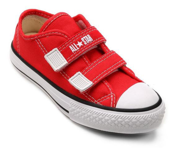 Tênis Infantil Converse All Star Border 2v - Vermeho
