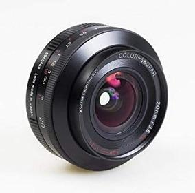 Lente Voigtlander 20mm Para Canon F 3.5