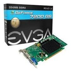Placa De Vídeo Evga Geforce 7200gs Gddr2 256mb 64bits