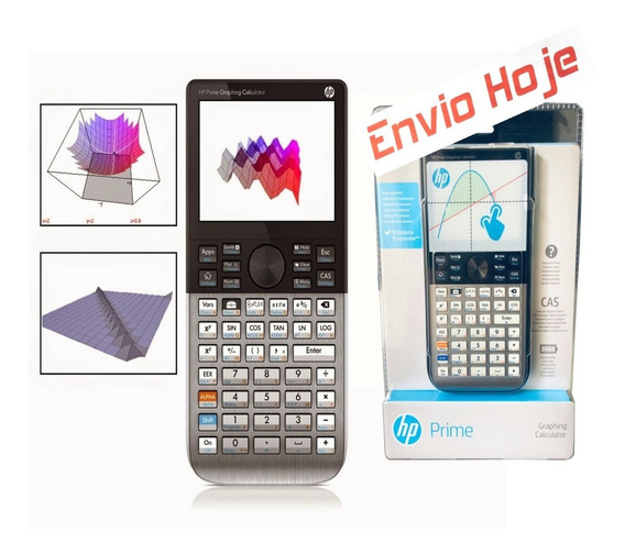 Calculadora Grafica Hp Prime V2 Tela Touch Digital Original