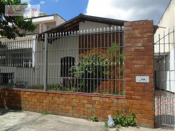 Sobrado Com 3 Dormitórios Para Alugar Por R$ 4.000/mês - Perdizes - São Paulo/sp - So0042