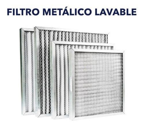 Filtros Aluminio Lavable Para Aires Acondicionado