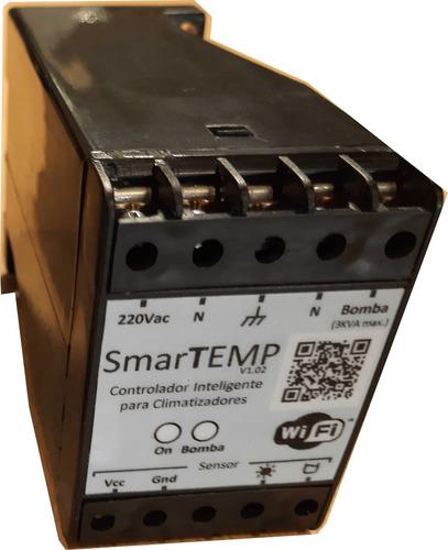 Imagen 1 de 3 de Termostato Digital Climatización Piscinas Wifi Smartemp