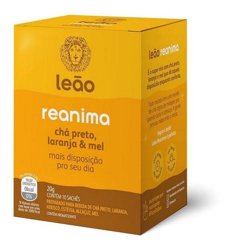 Chá Leão Funcionais - Reanima 10 Saches