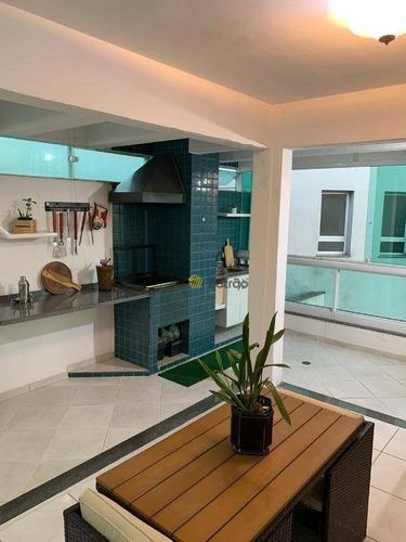Cobertura Com 3 Dormitórios À Venda, 175 M² Por R$ 765.000,00 - Vila Caminho Do Mar - São Bernardo Do Campo/sp - Co0245