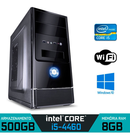 Computador Intel Core I5-4460 Ram 8gb Hd 500gb Windows 10