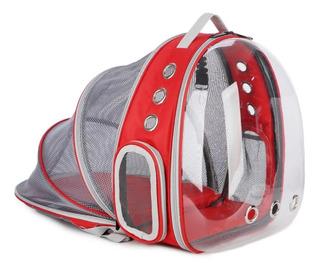 Bag Pack Mochila Domo Jaula Descanso Mascota Perro Gato Bolsa Transportadora