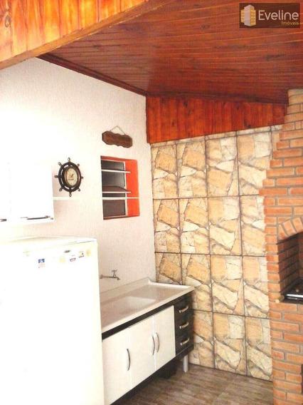Casa A Venda Em Mogi Das Cruzes Caputera De 2 Dormitórios. - V271
