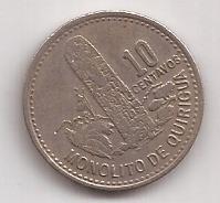 Guatemala Moneda De 10 Centavo Año 1978