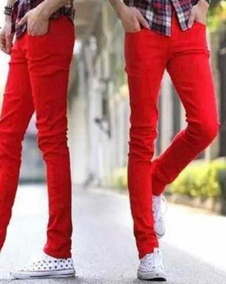 Jeans Hackett London Color Rojo Juvenil