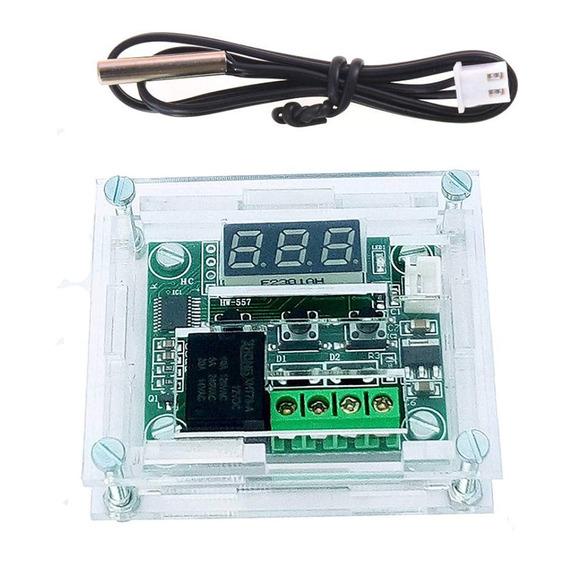 Termostato Digital Programable W1209 / -50 A 110°c + Caja