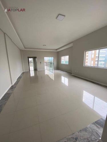 Apartamento Com 4 Suítes À Venda, 225 M² Por R$ 2.615.000 - Meia Praia - Itapema/sc - Ap2135