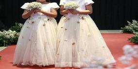 Vestido Para Daminha De Casamento Ou Batizado, Festa De Abc