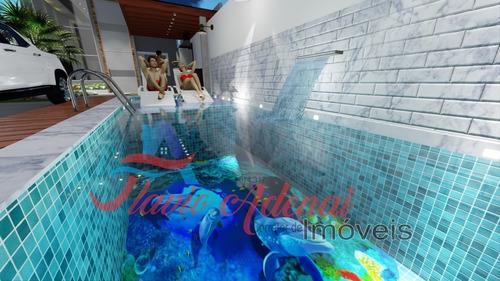 Casa Padrão Viverde E Alfaville No Costazul, A 100 Mt² Da Pr