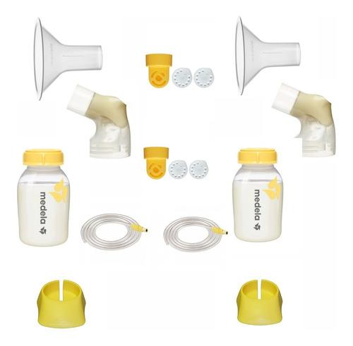 Kit Para Extração Dupla Bomba Pump In Style C/ Mangueira