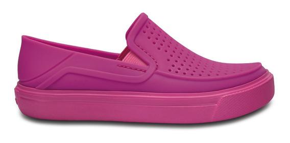 Zapato Crocs Niño Citilane Roka Rosa