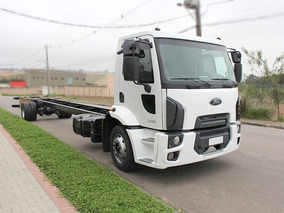 Cargo 1319 Ano 2015 Com Motor Novo - No Chassi