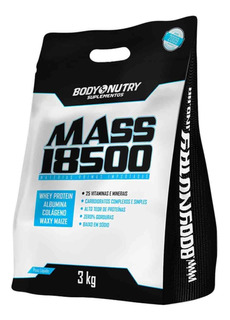 Mass 18500 (3kg) Refil - Body Nutry - Sabor Chocolate