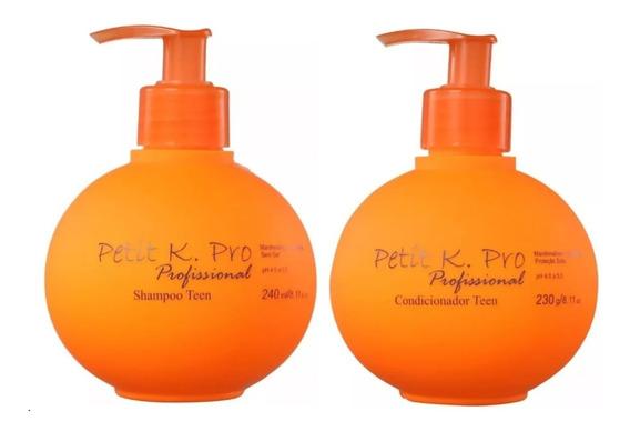 K.pro Petit Shampoo E Condicionador Teen + Brinde