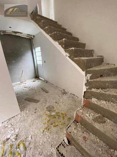 Casa Com 2 Dormitórios À Venda, 55 M² Por R$ 179.000,00 - Esmeralda - Praia Grande/sp - Ca0296