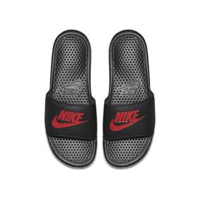 9638acc1954 Chinelo Nike Vermelho Simbolo Dourado - Calçados