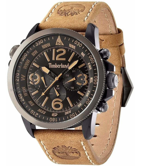 Relógio Timberland 13910jsbu.02 Black Tan Campton