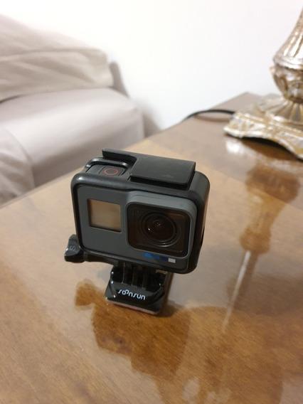 Câmera Gopro 6 Black Hero + Cartão De Memória