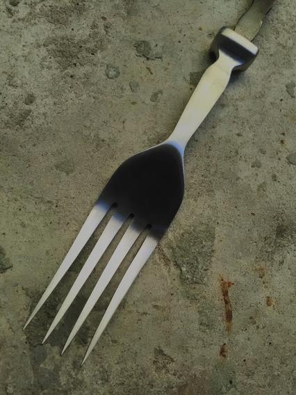 Seigen Tenedor Inox Forjado Para Encabar - Cuchillo - Facón