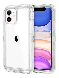 Funda Uso Rudo iPhone 6 6s 7 8 Plus X Xs Max Xr 11 Pro Case