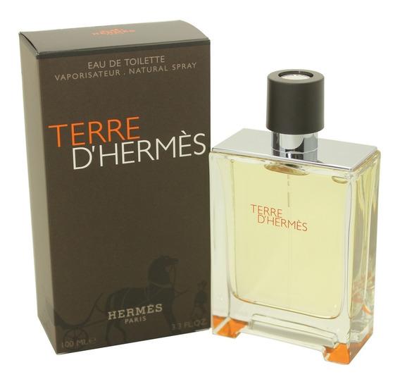 Perfume Masculino Terre D´hermès Edt 100ml Original