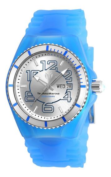 Reloj Technomarime Tm-115140 Silicona Azul Hombre