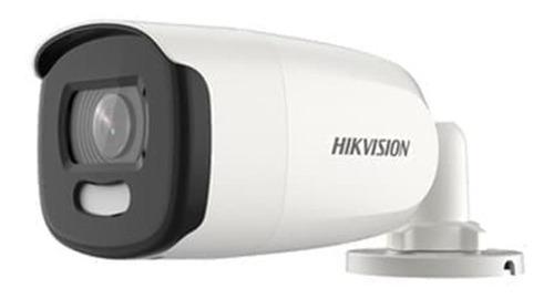Camera Bullet Hikvision Hd 1080 Colorvu Ds-2ce10dft-fc 3.6mm