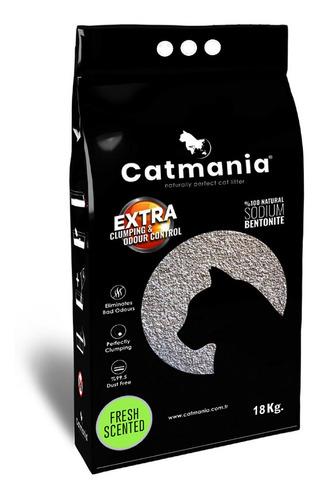 Arena Aglomerante Gato Catmania 18kg Aroma Fresco + Regalo