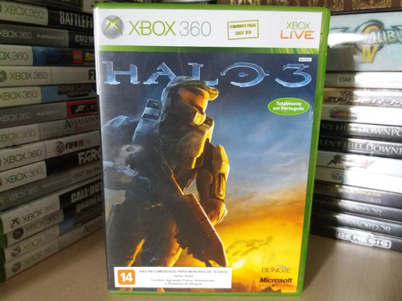 Jogo Halo 3 Xbox 360 Original Mídia Física Em Português