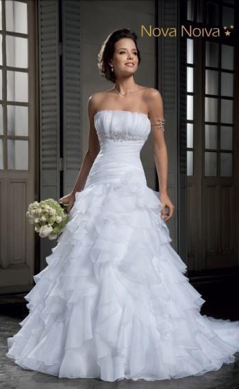 Vestido De Noiva Nova Noiva 38