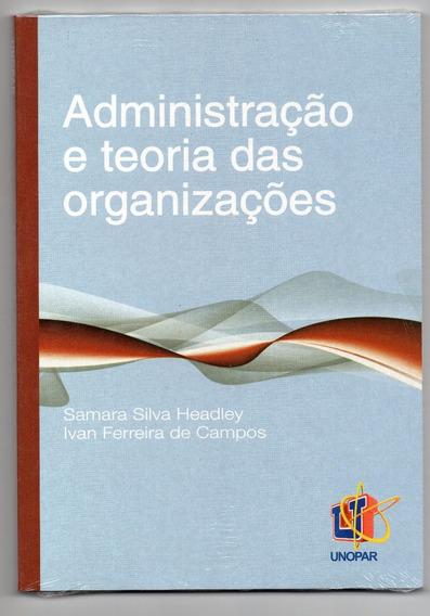 Administração E Teoria Das Organizações (unopar)
