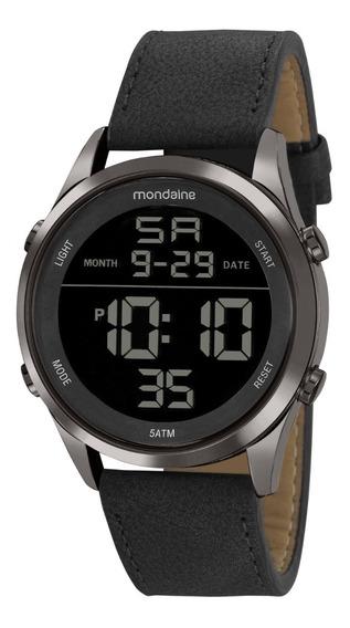 Relógio Masculino Mondaine Digital Couro 53964gpmvsh2 C/ Nfe