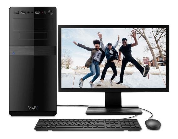 Computador Completo Core I3-7100 - 4gb Ddr4 - 1tb + Monitor