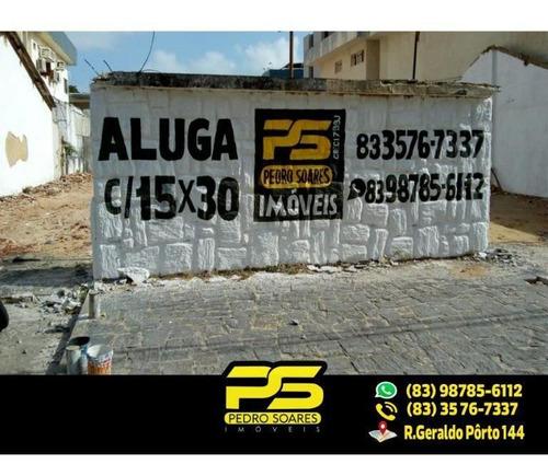 Imagem 1 de 1 de ( Alugo ) Terreno Em Tambaú. - Te0039