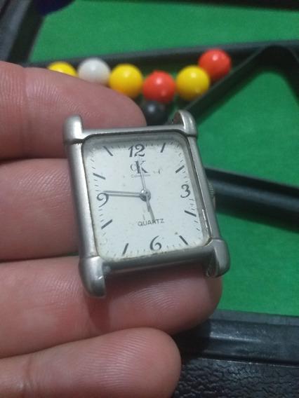 Relógio Calvin Klein Quartz S Pulseira S Bateria Lindo