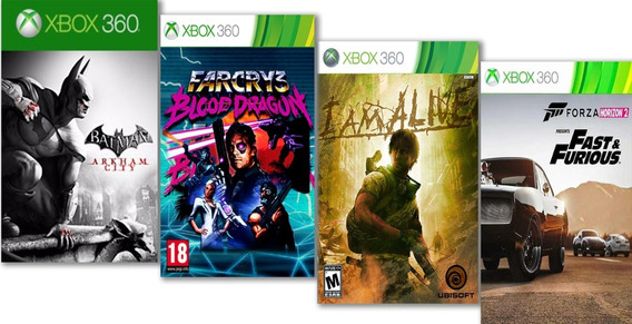 Batman: Arkham City +4 Jogos Mídia Digital Xbox 360