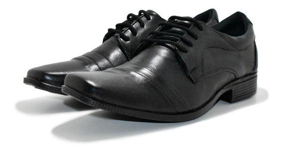Sapato Social Luxo Couro Masculino Oxford + Frete Grátis